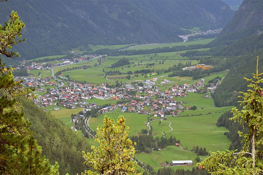 Klettersteig Oetztal : Klettersteig: stuibenfall Ötztal