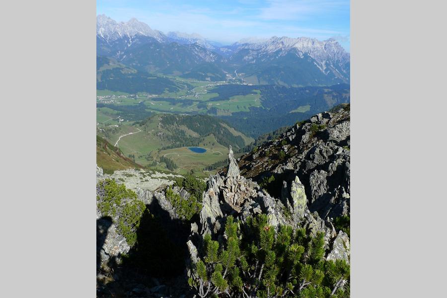 Klettersteig Kitzbühel : Klettersteig henne in den kitzbüheler alpen