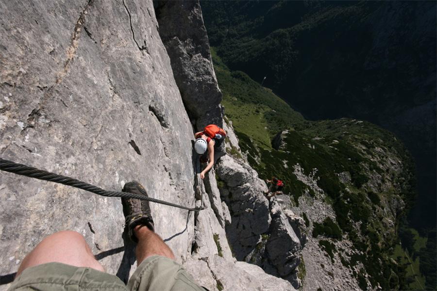 Klettersteig Bandschlinge : Klettersteige in südtirol