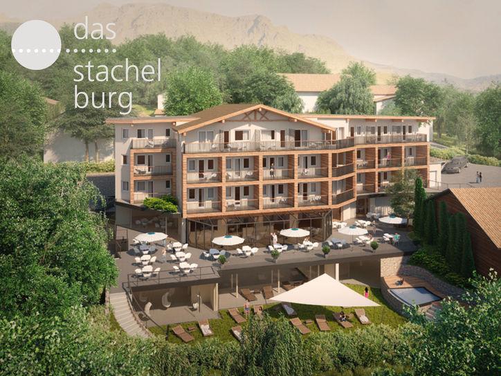 Hotel das stachelburg partschins for Design hotel meran und umgebung